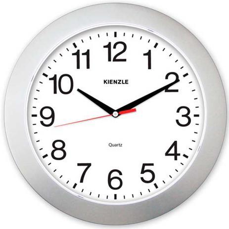 5dbb1ab92d9 Relógio de Parede Constellation 5376 05 Prata 37cm - Kienzle ...