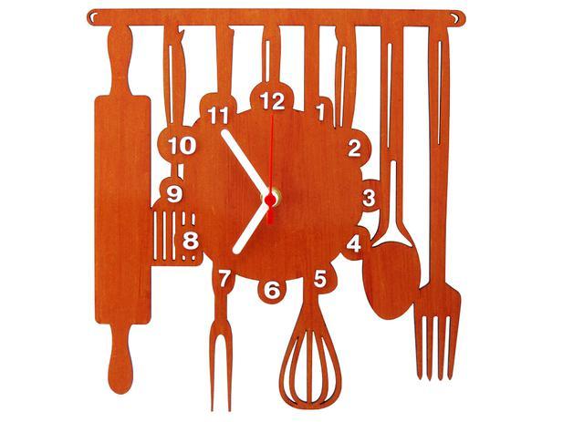 d4c3535be13 Relógio de Parede Decorativo - Modelo Cozinha - Me criative ...