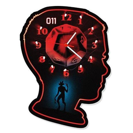 3e2f2fc84fa Relógio de Parede Eleven - Stranger Things - L3 store - Relógio de ...