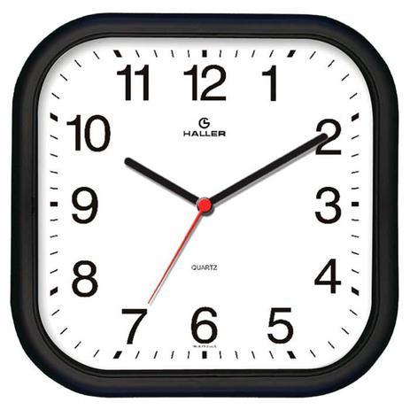 61972ddae5a Relógio de Parede Epcot 5501 02 Preto e Branco - Haller - Decoração ...