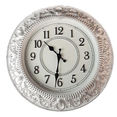 df8839a9d13 Relógio de Parede estilo Antigo vintage detalhes envelhecido 40x40 - Minas