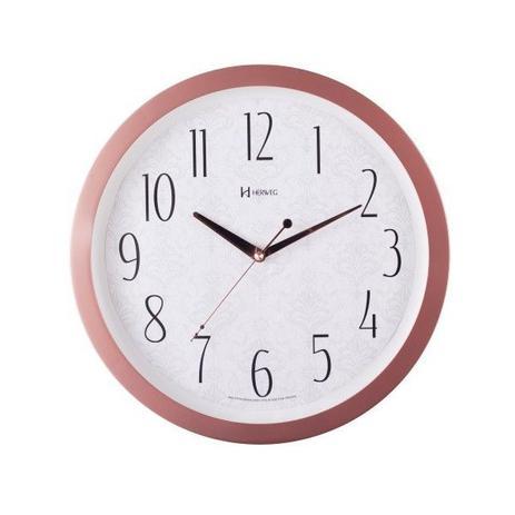 a473e8fb909 Relógio de Parede Herweg Redondo 6811 - Rosé Fosco - Relógio de ...
