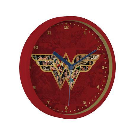1b7b0e8ceca Relógio de Parede Mulher Maravilha 22