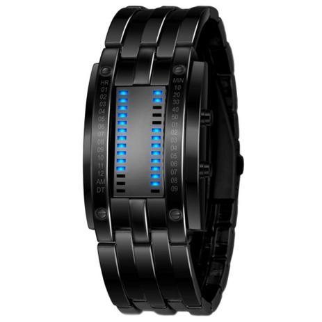 15f8f37e56b Relógio de Pulso Aço de Liga LED Digital Preto - Outras marcas ...