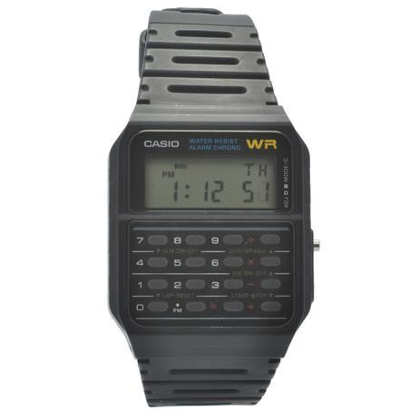 214ffca2376 Relógio de Pulso Casio Unissex CA53W1ZU - Preto - Relógio Social ...