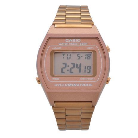 15a57faaa8d Relógio de Pulso Casio Vintage Digital Feminino B640WC-5ADF - Rosê ...