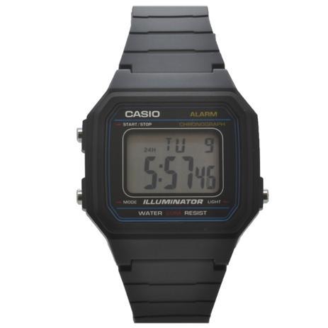 330e90f76c2 Relógio de Pulso Casio Vintage Unissex W-217H-1AVDF - Preto ...