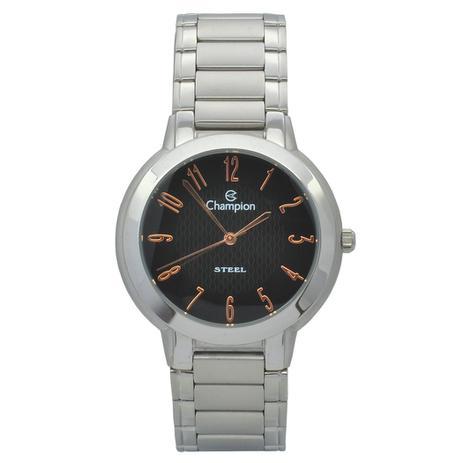 ebc07075a1f Relógio de Pulso Champion Masculino CA20009T - Prata - Champion watch