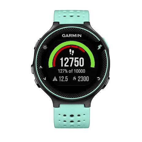54507dac13a Relógio de Pulso com Monitoramento Cardíaco Garmin Forerunner 235  SmartWatch Preto e Azul Gelo - 010