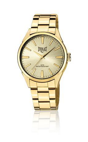 81853f4e950 Relógio de Pulso Everlast Analógico E640 Masculino Dourado - Relógio ...