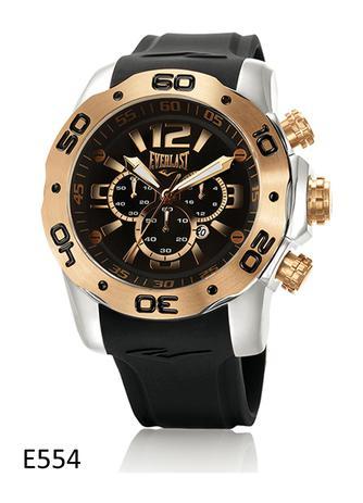 3f4db536366 Relógio de Pulso Everlast Cronografo Pulseira Silicone E554 ...