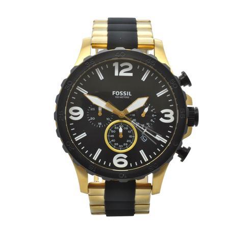 1d1d397d2ed Relógio de Pulso Fossil Masculino JR1526 4PN - Dourado e Preto ...