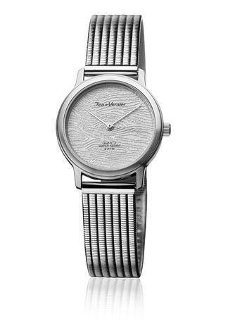 7bad26d1290 Relógio De Pulso Jean Vernier JV30952 Feminino Prata - Relógio ...