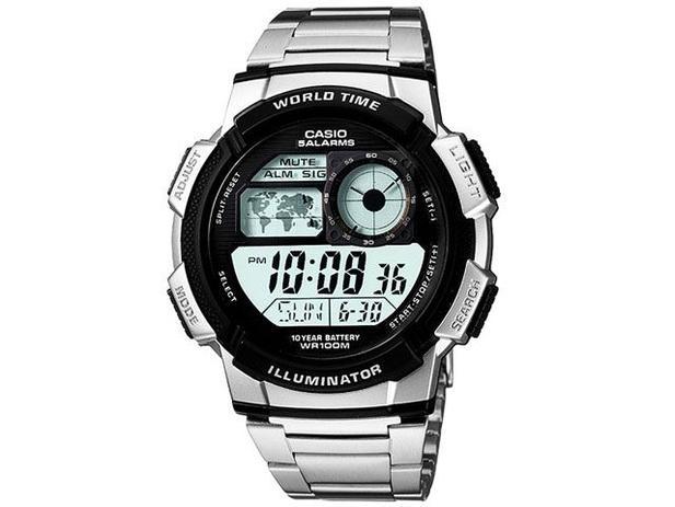 d6d13ae126d Relógio de Pulso Masculino Esportivo Digital - Casio AE 1000WD 1A ...