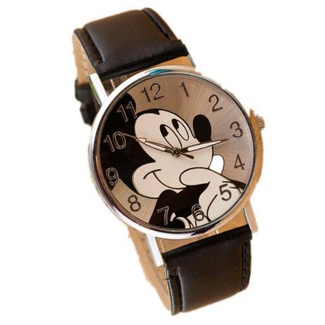 Relógio de Pulso Mickey Mouse Preto - Outras marcas - Relógios e ... 1424f76b95