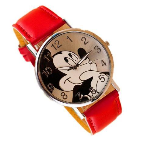 a61b25e5c67 Relógio de Pulso Mickey Mouse Vermelho - Outras marcas - Relógios e ...