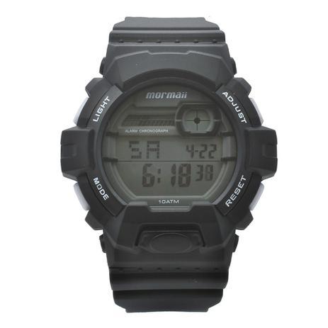 00611e35fcff1 Relógio de Pulso Mormaii Esportivo Masculino MOM08090 8B - Preto ...