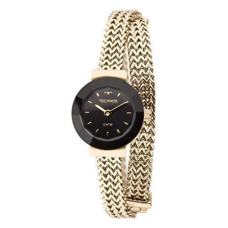 Relógio de Pulso Pulseira Technos Feminino 5Y20IP 4P - Dourado ... a0f67c8739