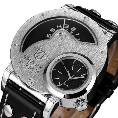 a3b4adc8697 Relógio de Pulso Shark Army - Saw054 - Aço Inoxidável - Relógio ...