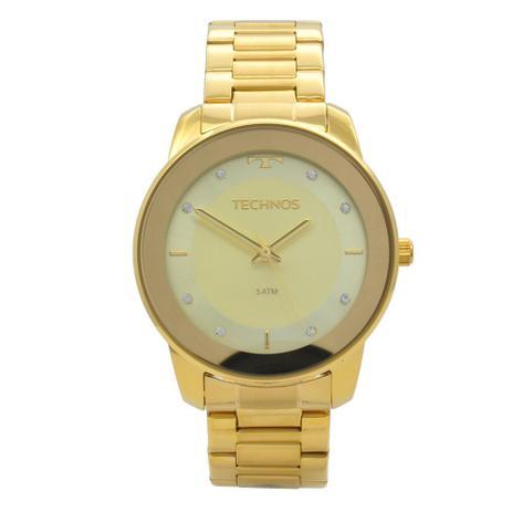 f2dee4fe6ce Relógio de Pulso Technos Feminino 2036MKD 4X - Dourado - Relógio ...