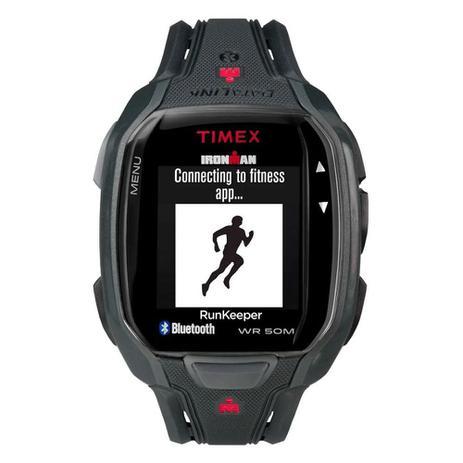 a77409d9b34 Relógio de Pulso Timex Run x50+ Smartwatch Unissex com Pulseira de Borracha  TW5K84600 - Preto