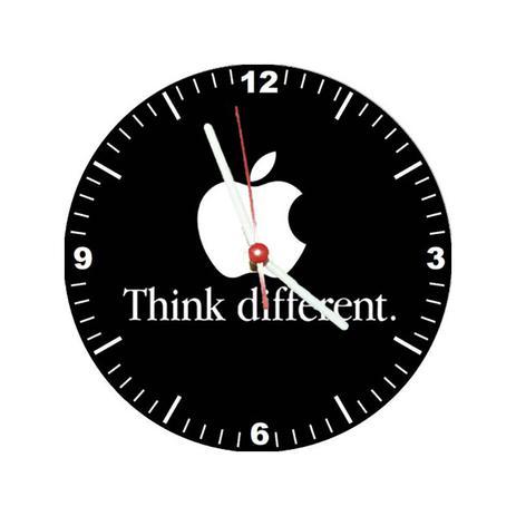 cbd3390aac7 Relógio Decorativo Apple Think Different - All classics - Relógios ...