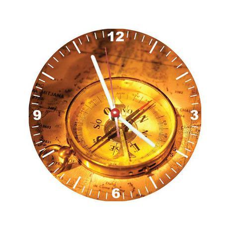 4d774e30b3f Relógio Decorativo Bússola - All classics - Relógio de Parede ...