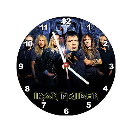 09385ade7f7 Relógio Decorativo Iron Maiden - All classics - Relógios de Parede e ...