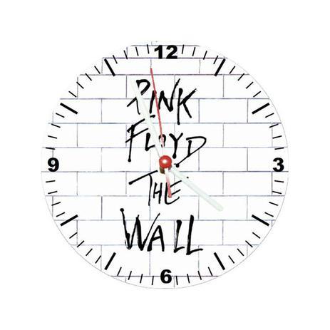 3690a1789f7 Relógio Decorativo Pink Floid The Wall - All classics - Relógio de ...