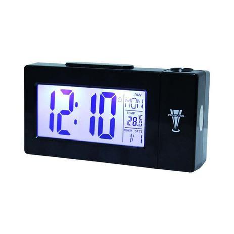 cbc7c674ca2 Relógio Despertador Digital com Projetor de Horas DS-618 - Atma ...