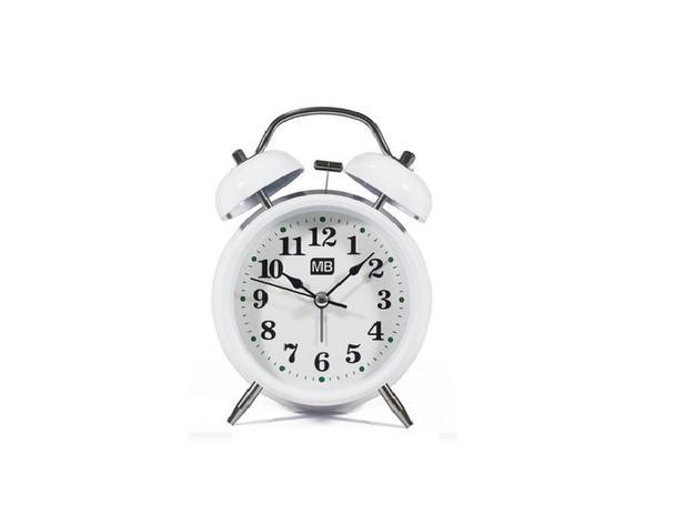 543663e2887 Relógio Despertador Retrô - Mb tech - Despertador - Magazine Luiza