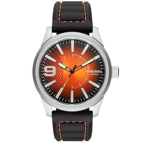 5087337c0e3 Relógio Diesel Masculino Ref  Dz1858 0mn Esporte Fino Prateado ...