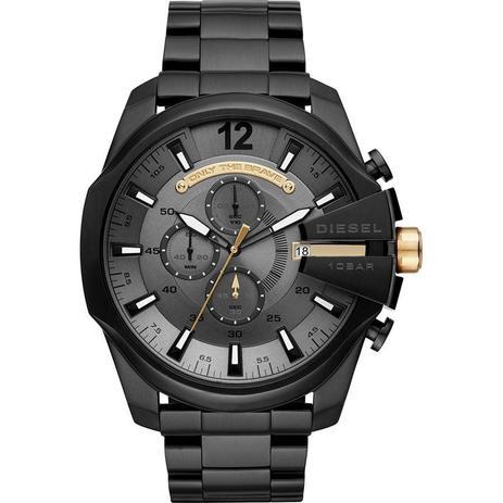 3791245f78d Relógio Diesel Masculino Ref  Dz4479 0pn Big Case Black - Relógio ...