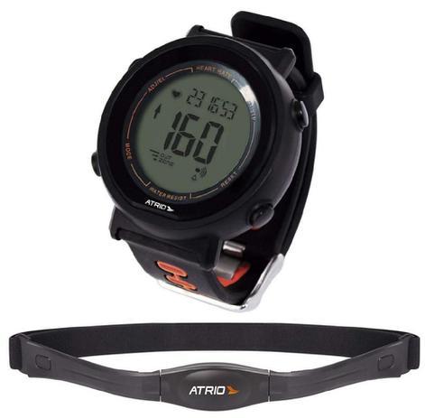 Imagem de Relógio Digital com Monitor Cardíaco + Cinta Fortius - Es049
