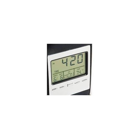 1105c02741a Relogio digital de mesa data e temperatura com termometro calendario  despertador - Represent