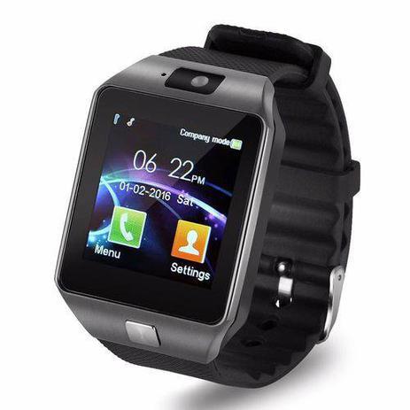 c74d14175c6 Relógio Dz09 Smart watch WhatsApp p  Android - Smartwatch - Smart bracelet