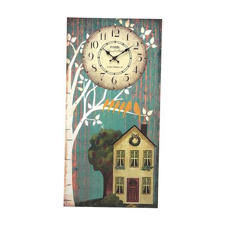 361a7071c3f Relógio e Quadro de Parede Home - de madeira - Mch ornamentos