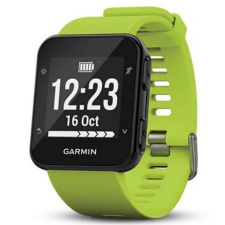 95f40efefdd Relógio Esportivo Garmin Forerunner 35 Verde com Medição de Frequência  Cardíaca