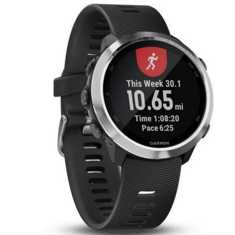 70e1f25c153 Relógio Esportivo Garmin Forerunner 645 Music Preto 010-01863-20 com GPS e Monitor  Cardíaco