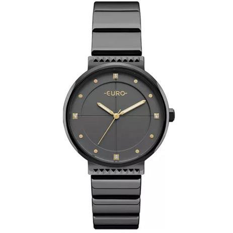 ba534f5dafd Relógio Euro Feminino Analógico EU2035YOB 4P - Preto - Relógio ...
