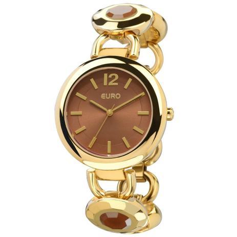 fdc74683396 Relogio Euro Feminino Analogico Mielec - Eu2035lvy 4m - Relógio ...