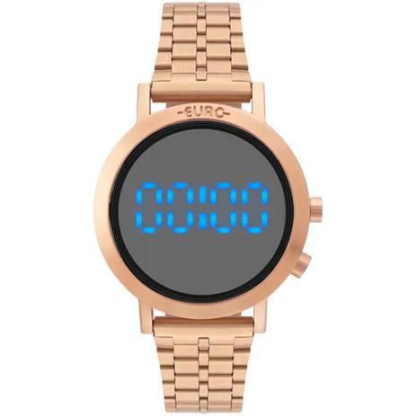 3950ff78c3b Relogio Euro Feminino Fashion Fit Eubj3407ac t4p Rose Gold - Relógio ...