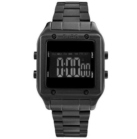 b357f320e52 Relógio EURO Feminino FASHION FIT PRETO EUG2510AC 4P - Relógio ...
