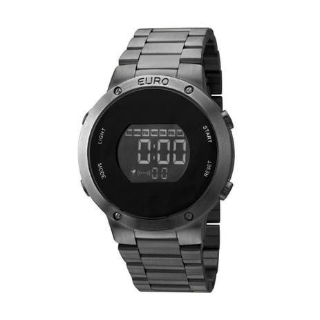 c34572d156c02 Relógio Euro Feminino Preto Digital Eubj3279ab 4p Digital - Relógio ...