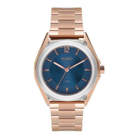 6eac2fdf5f6 Relógio Euro Feminino Ref  Eu2035ypl 5a Color Mix Rosé - Relógio ...