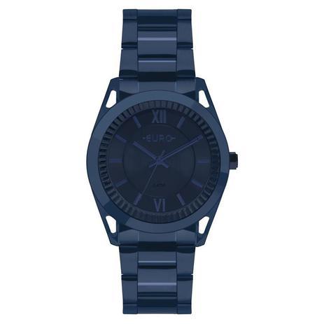 3954a3a1072 Relógio Euro Feminino Ref  Eu2035ypq 4a Metal Frame Azul - Relógio ...