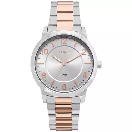 5fba6db7385 Relógio Euro Feminino Ref  Eu2036ylw 5k Casual Bicolor - Relógio ...
