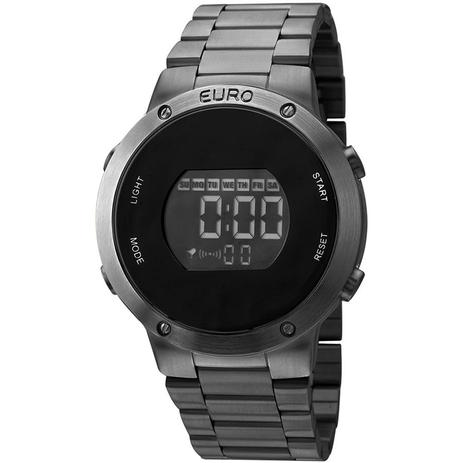 Relógio Euro Feminino Ref  Eubj3279ab 4p Fashion Fit Digital Black ... 11ed89423c