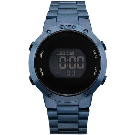 7306a122278 Relógio Euro Feminino Ref  Eubj3279ac 4a Digital Azul - Relógio ...