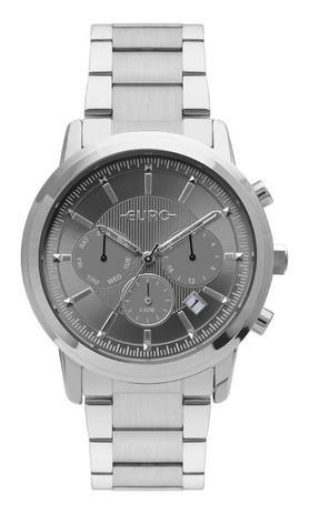 Relógio Euro Multi Basics Pushers Prata Feminino EUJP25AA 3C ... 7b10040f45